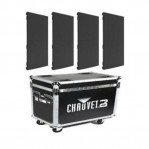 CHAUVET VIVID 4 (4-PACK W/FLIGHT CASE)