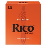 D`ADDARIO WOODWINDS RCA1015 RICO, BB CLAR, 1.5, 10 BX