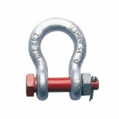 DURATRUSS Shackle w screw/splint, 3250kg