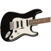 FENDER SQUIER CONTEMPORARY STRATOCASTER HSS, BLACK METALLIC