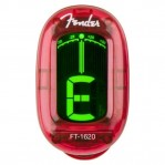 FENDER CALIFORNIA SERIES CLIP-ON TUNER CANDY APPLE RED