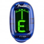 FENDER CALIFORNIA SERIES CLIP-ON TUNER LAKE PLACID BLUE