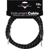 FENDER CUSTOM SHOP 5 INSTRUMENT CABLE BLACK TWEED