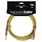 FENDER CUSTOM SHOP 10 INSTRUMENT CABLE TWEED