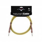 FENDER CUSTOM SHOP 5 INSTRUMENT CABLE TWEED