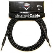 FENDER CUSTOM SHOP CABLE 20 BLACK