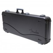 FENDER DELUXE MOLDED JAGUAR/JAZZMASTER CASE, BLACK