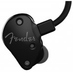 FENDER FXA2 PRO IN-EAR MONITORS, METALLIC BLACK