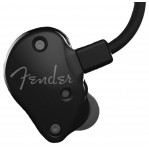 FENDER FXA5 PRO IN-EAR MONITORS, METALLIC BLACK