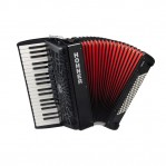 HOHNER THE NEW BRAVO II 48 BLACK