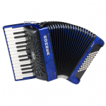 HOHNER THE NEW BRAVO II 48 DARK BLUE