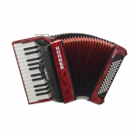 HOHNER THE NEW BRAVO II 60 RED