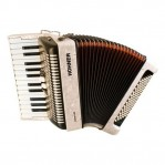 HOHNER THE NEW BRAVO II 60 WHITE