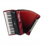 HOHNER THE NEW BRAVO III 120 RED