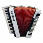 HOHNER THE NEW BRAVO III 120 WHITE