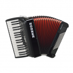 HOHNER THE NEW BRAVO III 72 BLACK