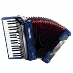 HOHNER THE NEW BRAVO III 72 DARK BLUE