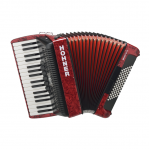 HOHNER THE NEW BRAVO III 72 RED