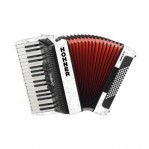 HOHNER THE NEW BRAVO III 72 WHITE