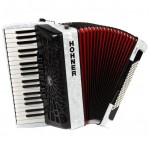 HOHNER THE NEW BRAVO III 96 WHITE