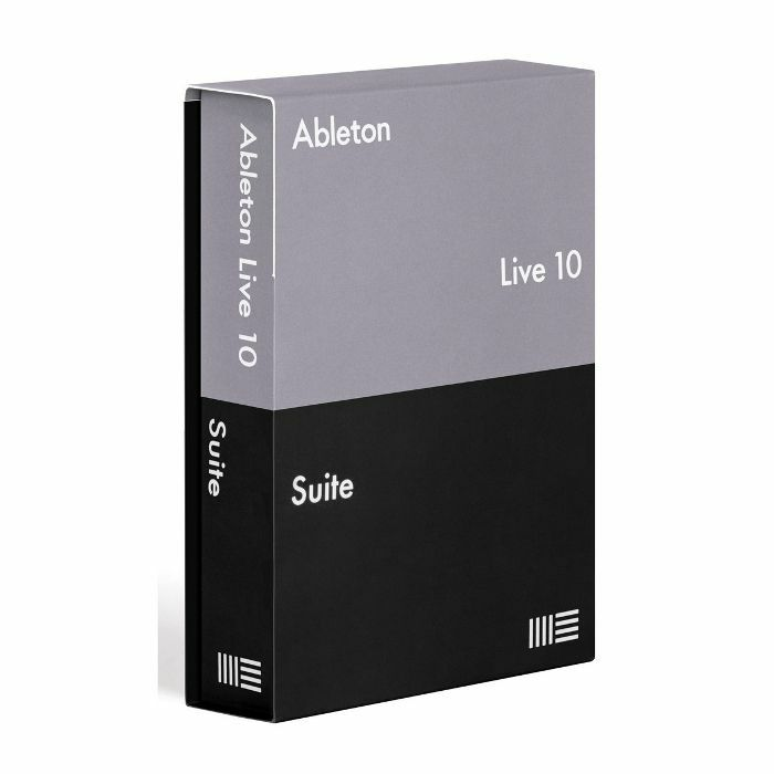 Программное обеспечение ABLETON Live 10 Suite Edition