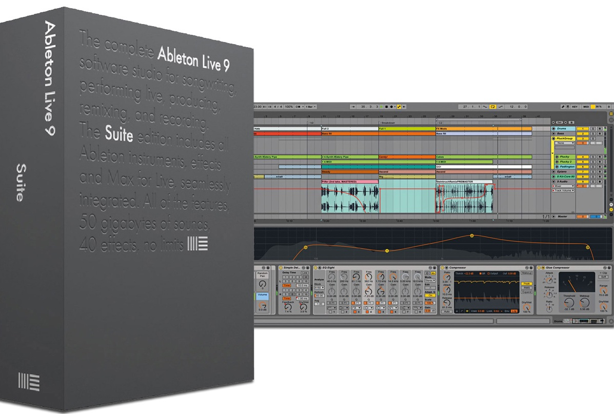 Программное обеспечение ABLETON Live 9.5 Suite