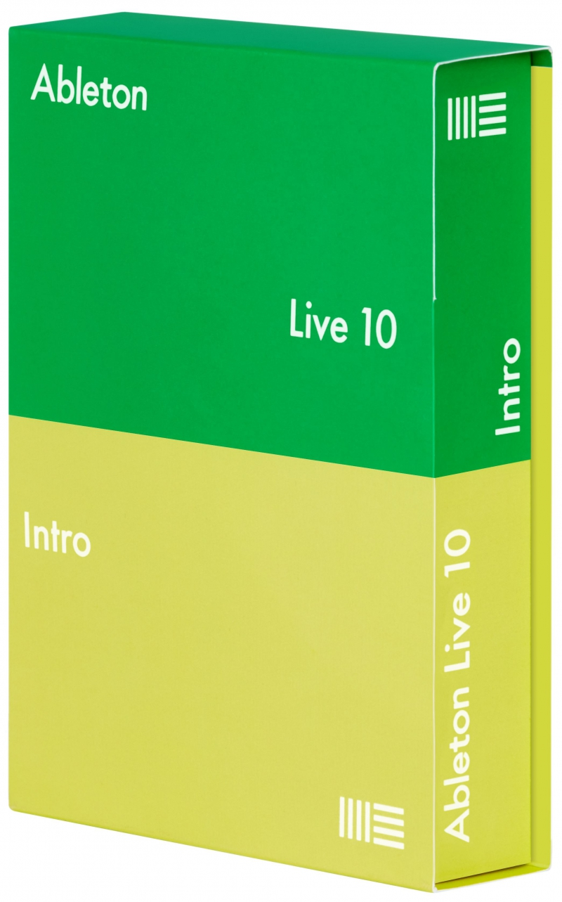 программное обеспечение Ableton Live 10 Intro Edition